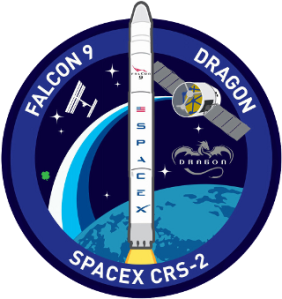 SpaceX CRS-2 Logo