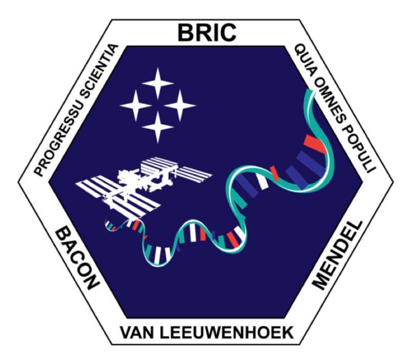 Logo for the BRIC experimental team at NASA.